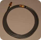 GSS; 3 foot Fitted hose with B fittings installed